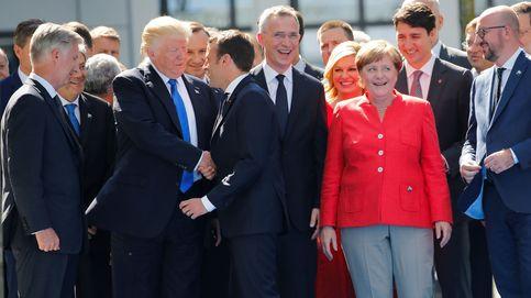 El día que Macron demostró a Trump que podía ser tan chulo como él