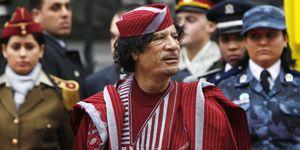 De cómo Gadafi quiso proclamarse emperador de toda África