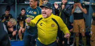 Post de Diego Armando Maradona, héroe y villano televisivo