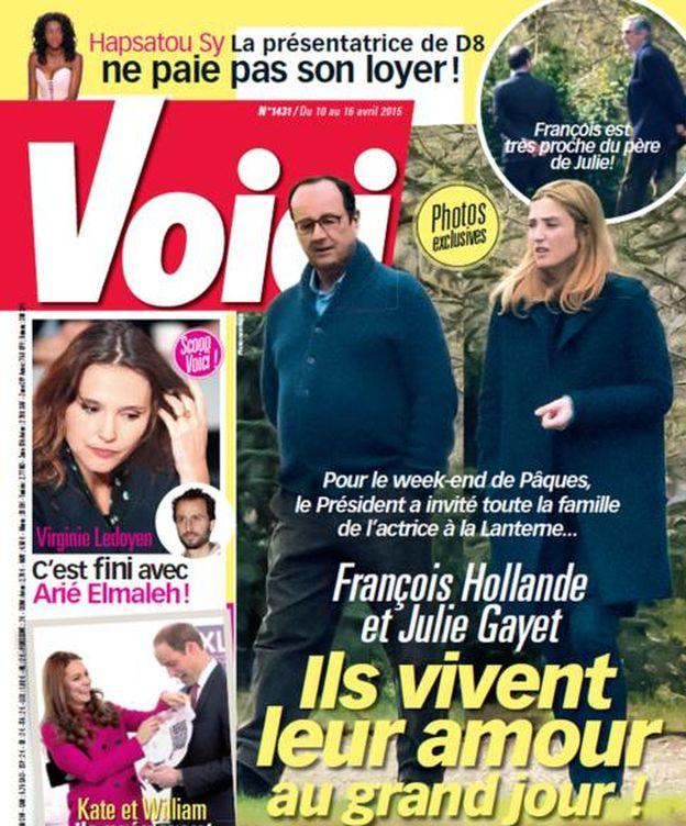 Foto: La portada de la revista francesa 'Voici'
