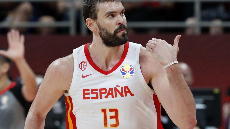 Marc Gasol fue el máximo anotador de España ante Australia con 33 puntos. (Reuters)