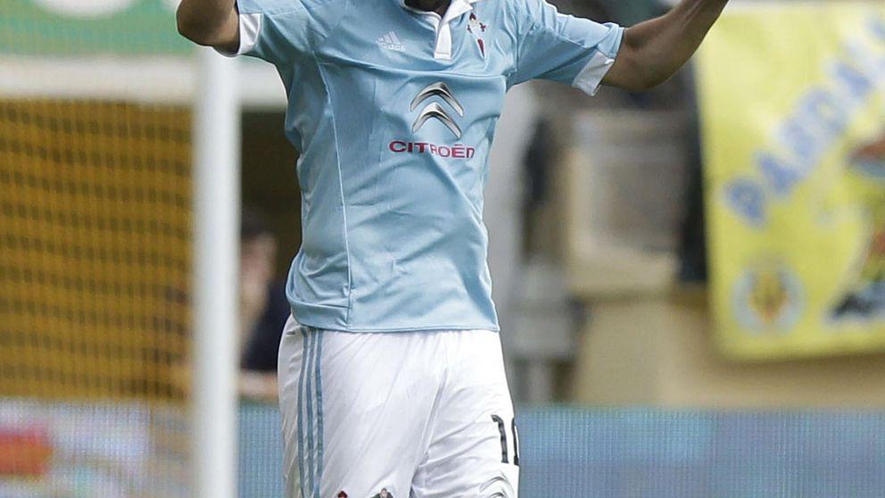 Un gol de Nolito tumba al Villarreal en El Madrigal y da el liderato al Celta