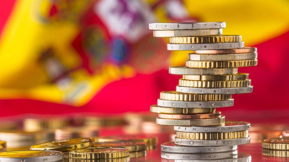Foto: Torre de monedas de euro en una imagen de archivo. (iStock)