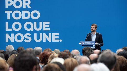 Casado busca el debate económico como última baza frente a 'la pinza' PSOE-Vox