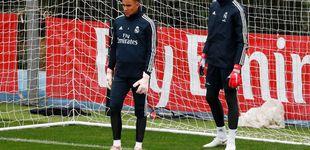 Post de La batalla perdida del ofendido Keylor Navas en el Real Madrid