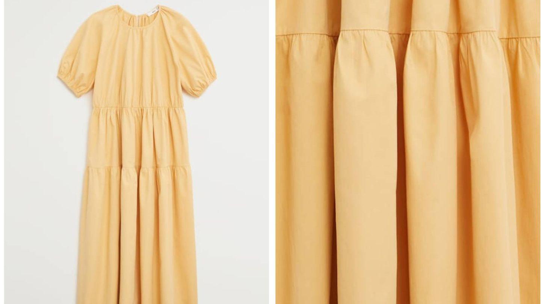 El vestido de Mango. (Cortesía)