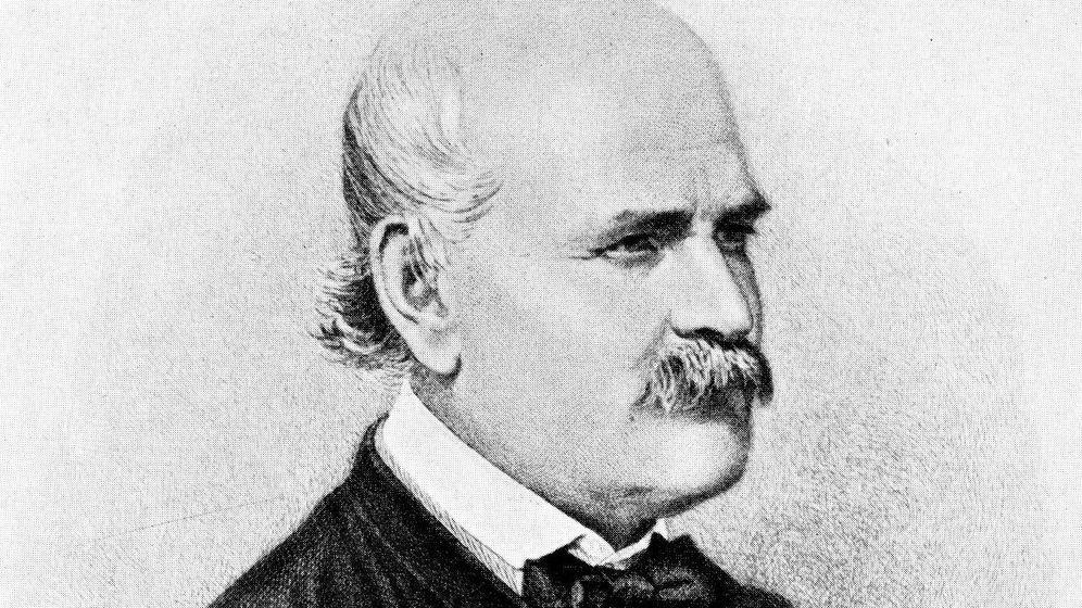 Foto: Ignaz Semmelweis. El padre del lavado de manos.