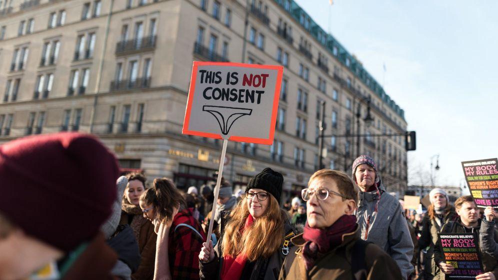 Foto: Manifestación feminista en Berlín. (EFE)