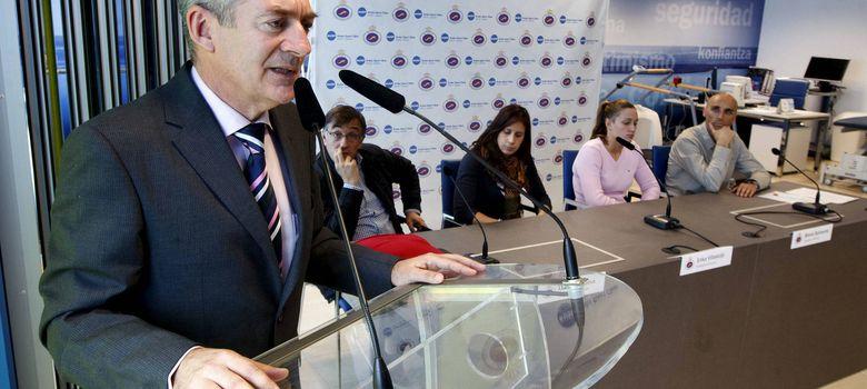 Foto: Fernando Carpena, presidente de la Federación Española de Natación.