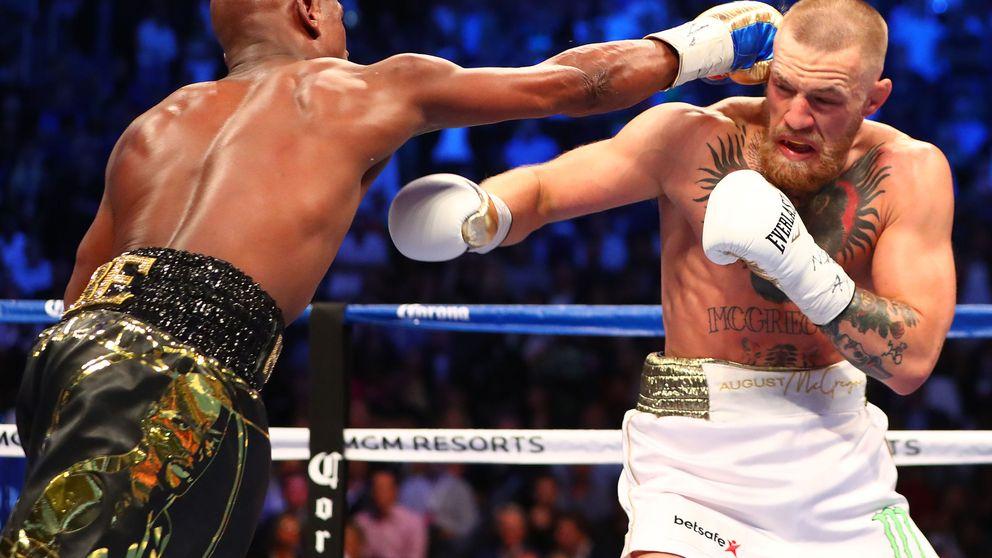Mayweather tapa la boca a McGregor con la simple ley del boxeo