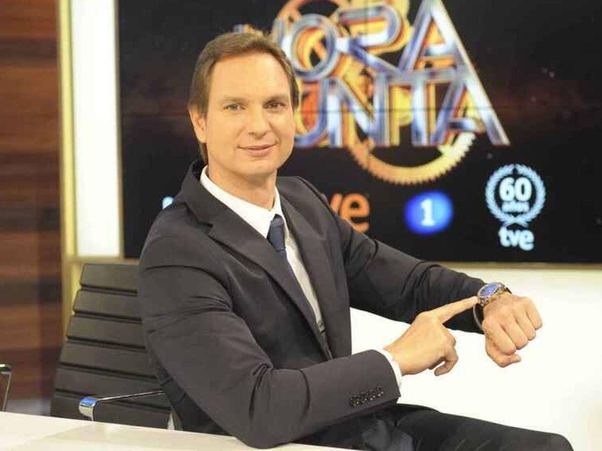 Foto: Javier Cárdenas, en 'Hora punta'. (TVE)