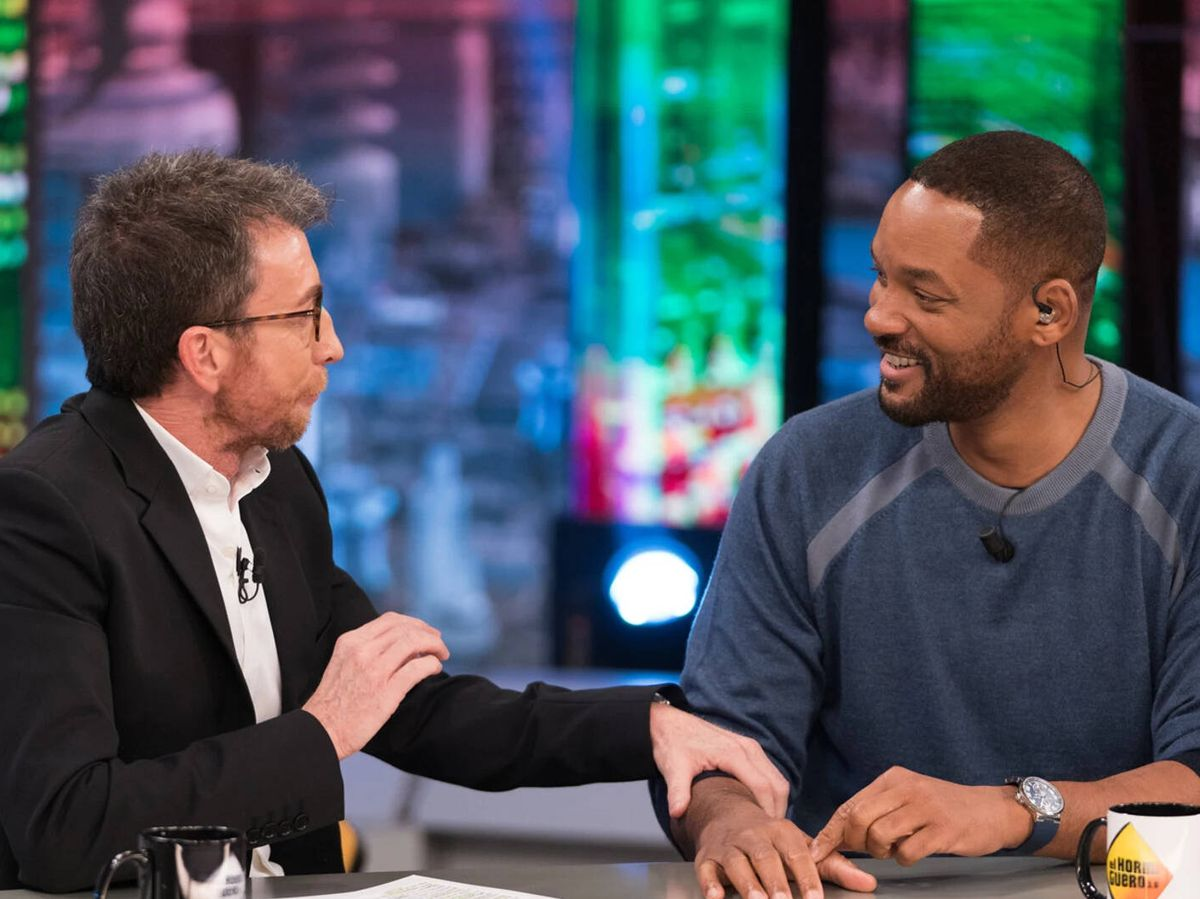 Foto: Pablo Motos y Will Smith, en 'El hormiguero'. (Antena 3)