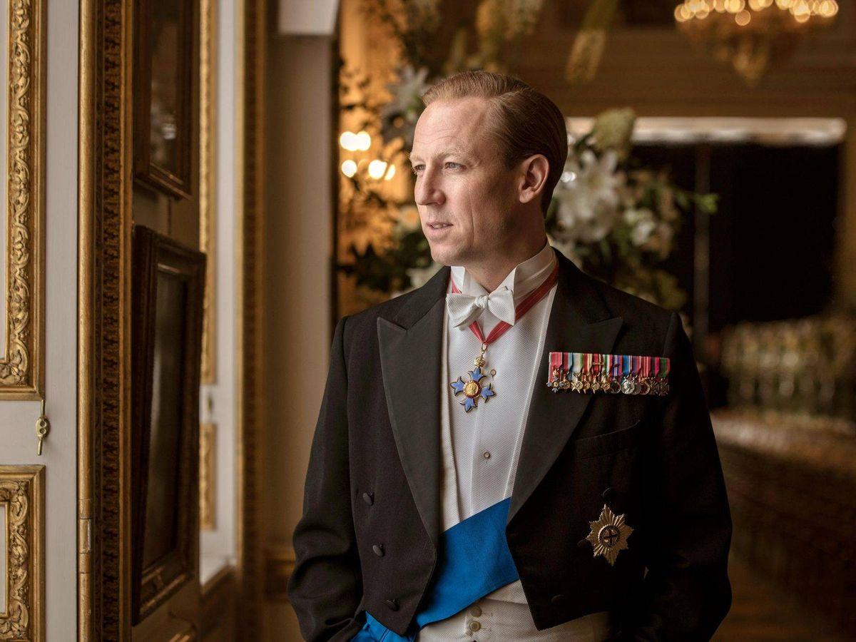 Foto: Tobias Menzies, en el papel del duque en 'The Crown'. (Netflix)
