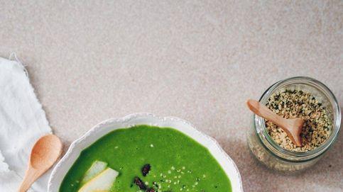 Smoothie bowl saludable para desayunar