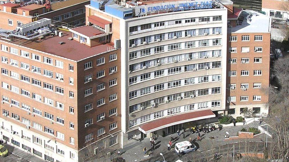 Foto: Vista de la Fundación Jiménez Díaz. (CAM)
