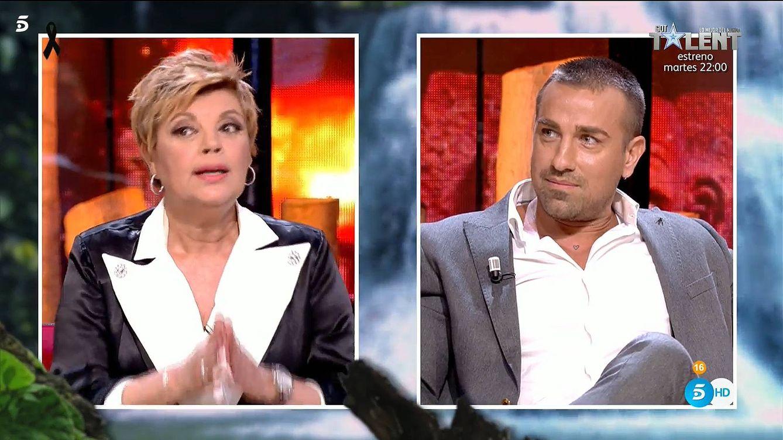 Terelu Campos sermonea a la dirección de 'Supervivientes' por permitir a Rafa Mora revelar información privada de ella