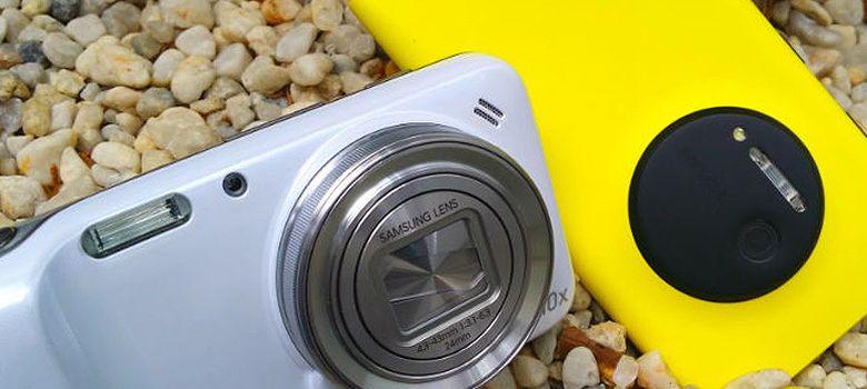 Foto: Lumia 1020 o S4 Zoom, ¿cuál es el 'smartphone' con mejor cámara?