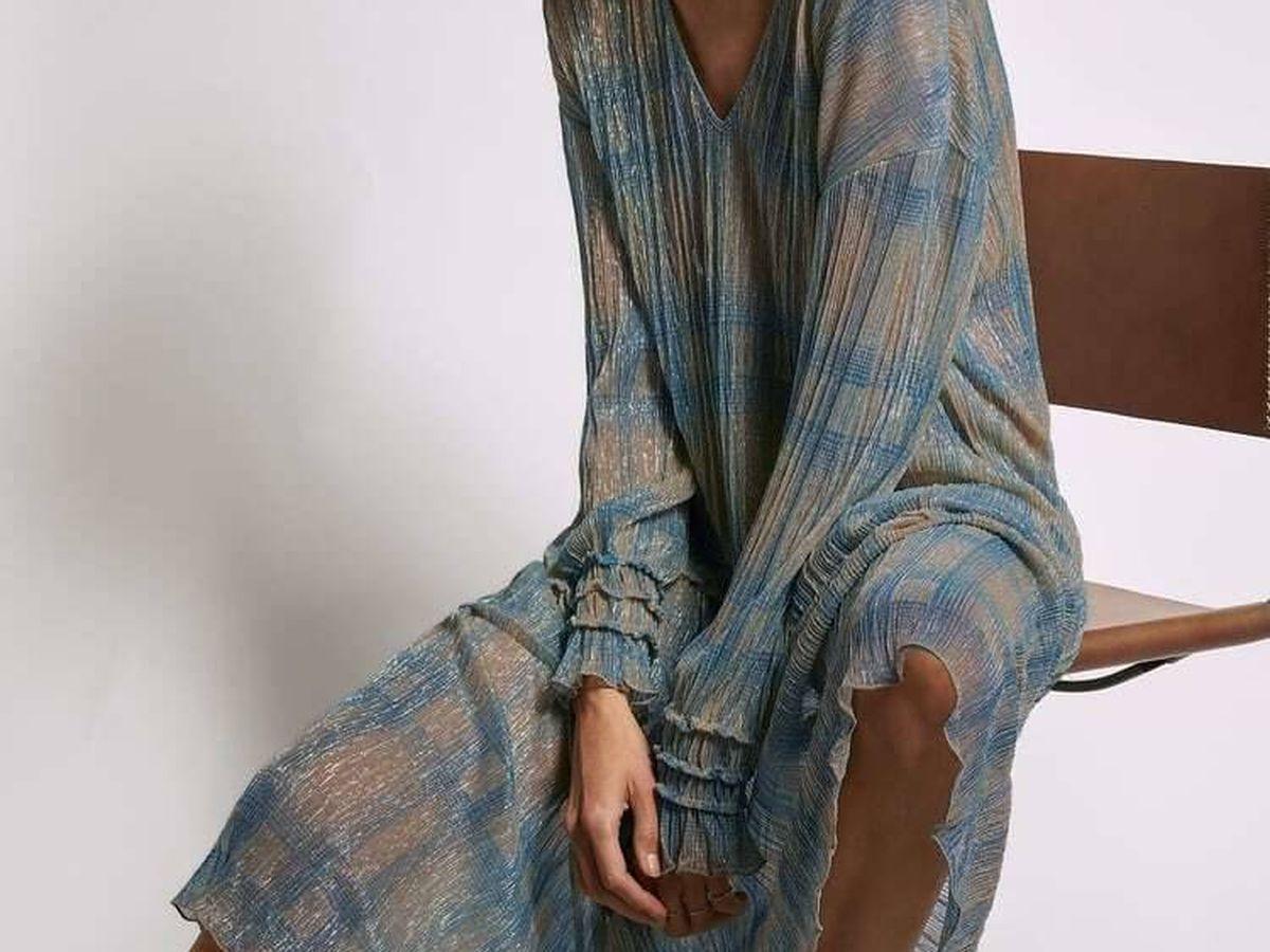 Foto: Vestido largo y bohemio de Zara. (Cortesía)