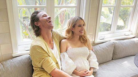 Emma Roberts muestra por primera vez a su hijo y agradece al 2020 este regalo