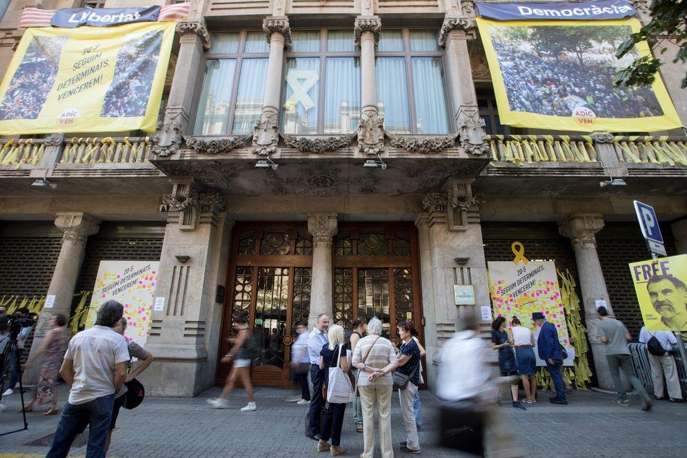 Foto: Sede de la 'consellería' de Economía en Barcelona en una imagen del mes de febrero. (EFE)