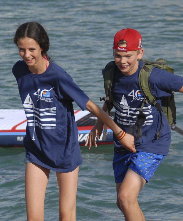 Foto: Victoria Federica junto a su primo Juan Pablo Urdangarin. (Cordon)