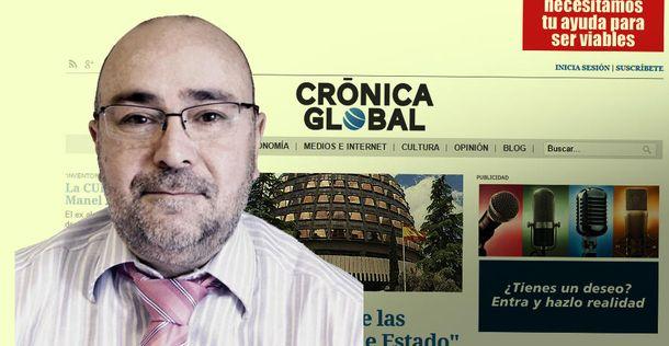 Foto: El exdirector de 'Economía Digital' Xavier Salvador dirigirá 'Crónica Global'