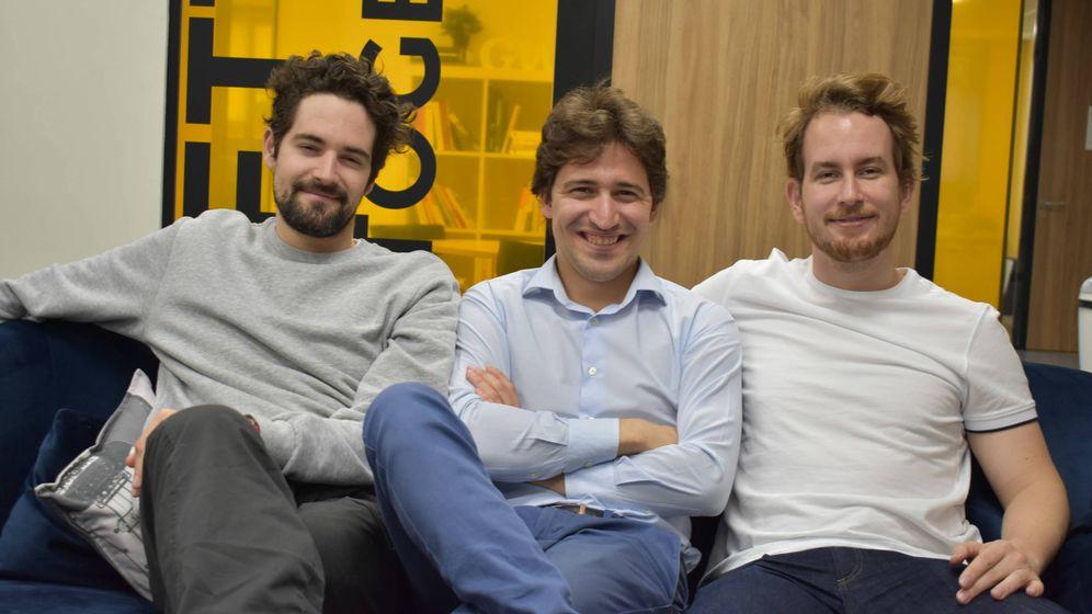 Foto: Ramón Castro, Luis Bardaji y Gabor Balogh son los fundadores de Trcucksters