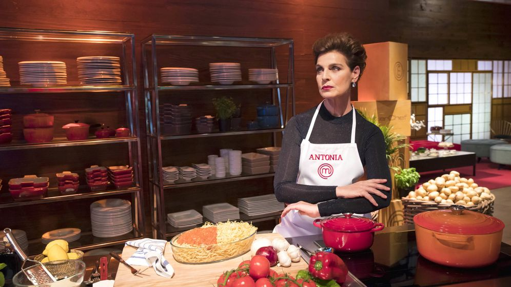 Foto: Antonia Dell'Atte, en 'MasterChef Celebrity'. (TVE)