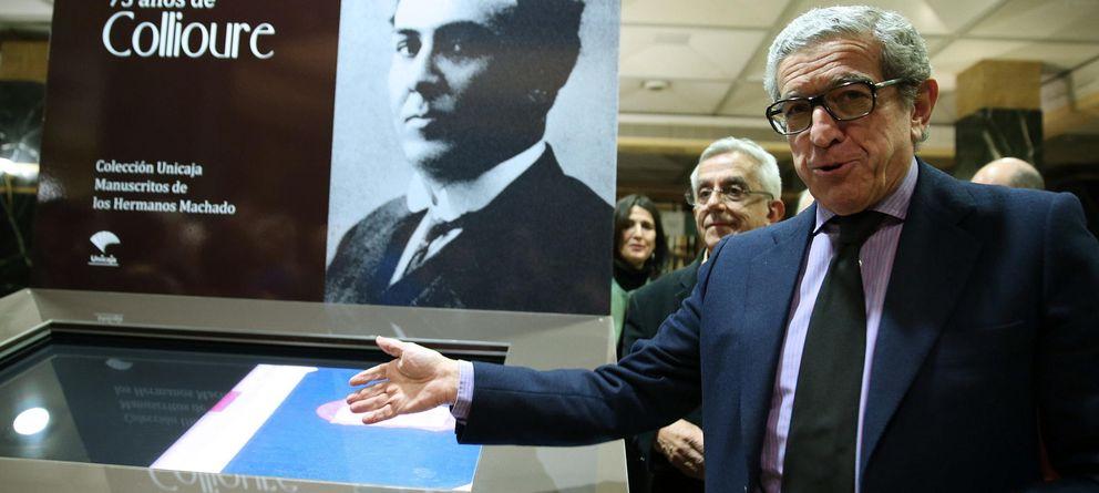Foto: El presidente de Unicaja, Braulio Medel. (EFE)