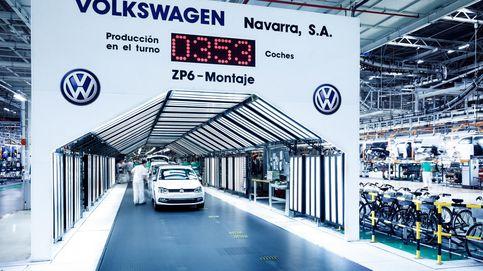 Navarra se juega hasta el 30% del PIB en el futuro de la factoría de Volkswagen