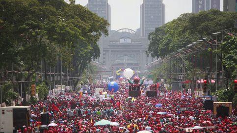 Simpatizantes de Maduro