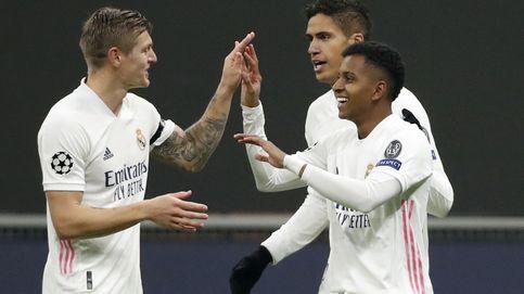 El Real Madrid liquida al Inter cuidando la pelota, como le gustaba a Maradona (0-2)