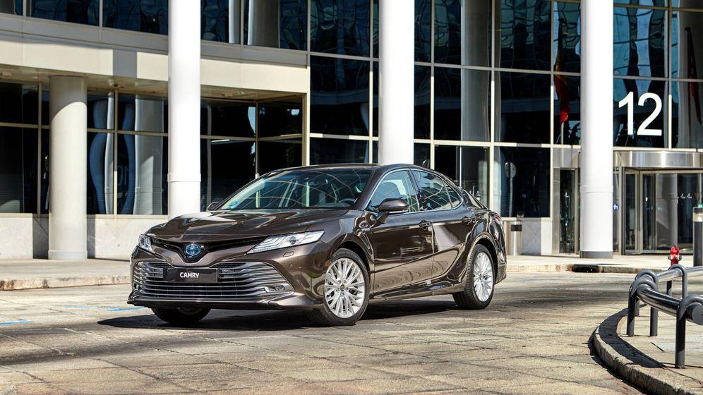 Foto: El Toyota Camry llega a España con versión híbrida