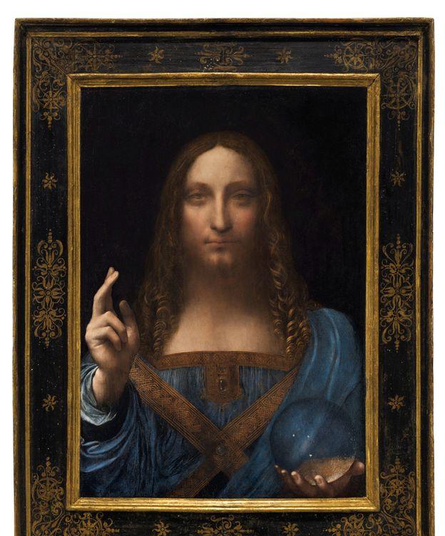Foto: El 'Salvator Mundi', expuesto por Christie's. (Reuters)