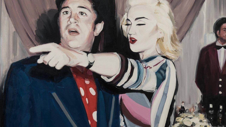 Madonna y Pedro Almodóvar.