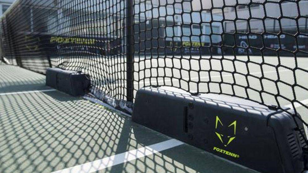 Foto: La tecnología de FoxTenn, instalada en una pista.