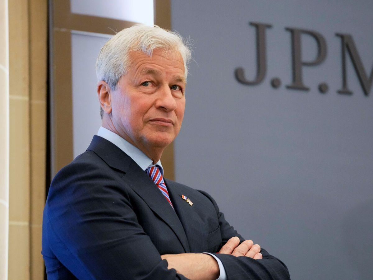 Foto: Jamie Dimon, CEO de JP Morgan. (Reuters)