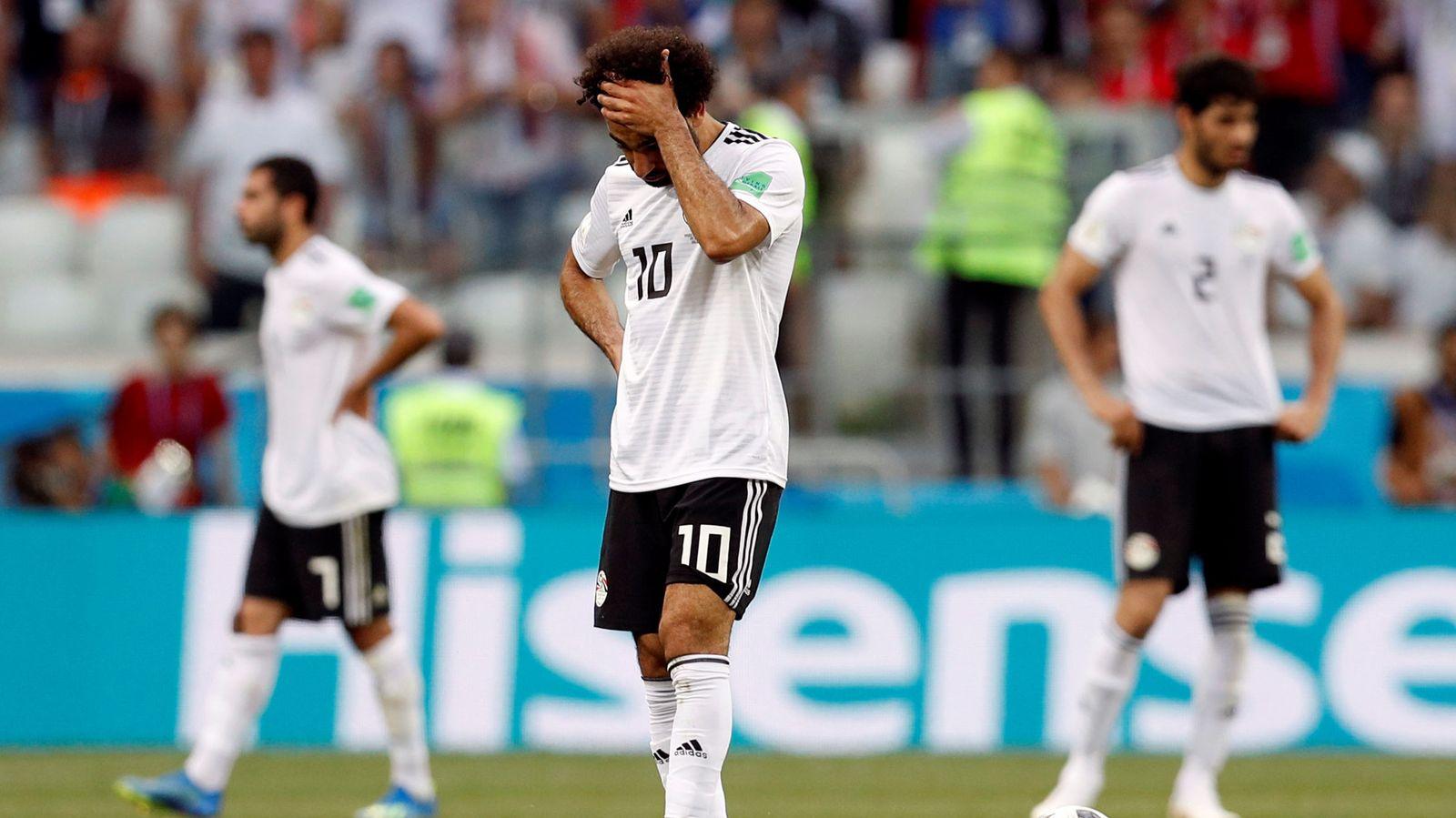 Foto: World cup - group a - saudi arabia vs egypt