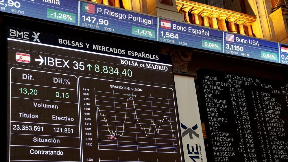 Foto: Imagen de archivo de la Bolsa española. (EFE)