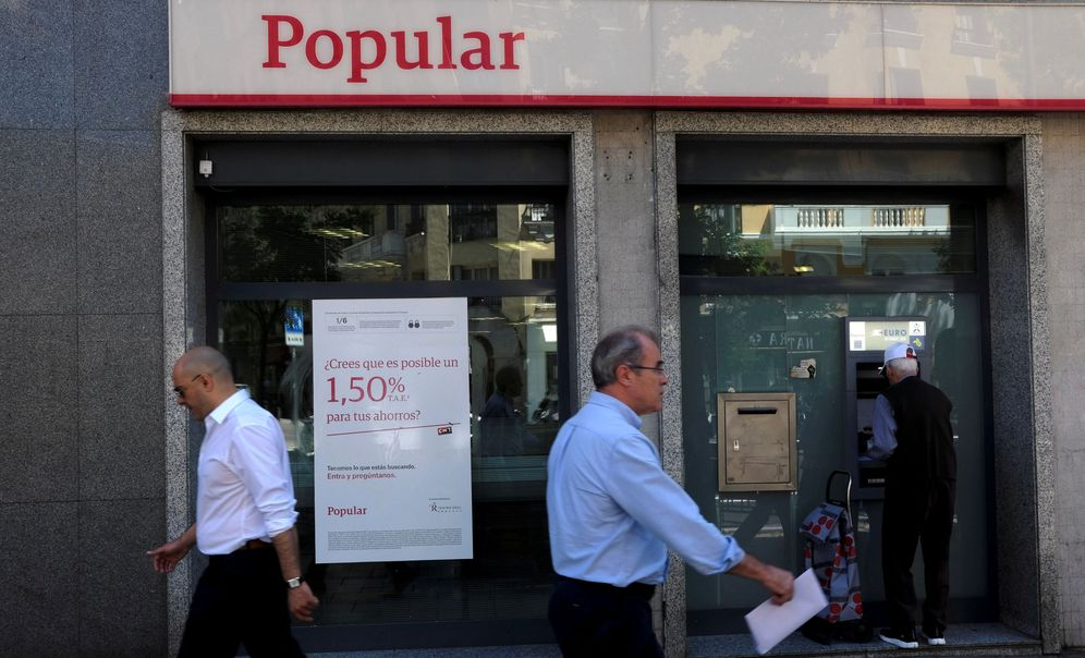 Foto: Una oficina del Banco Popular en Madrid (Reuters)