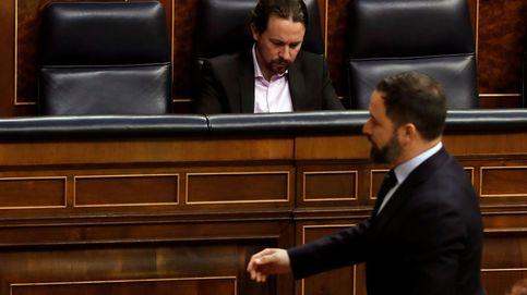 Iglesias y Abascal, sobre revanchismo y 'bulocracia'