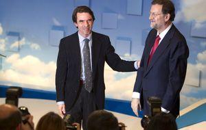 Aznar mantiene aún en vilo a Génova y no ha confirmado su presencia en la Convención