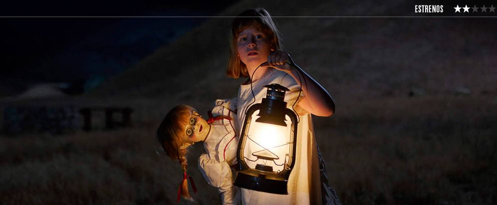 Foto: Un fotograma de 'Annabelle: Creation'. (Warner)