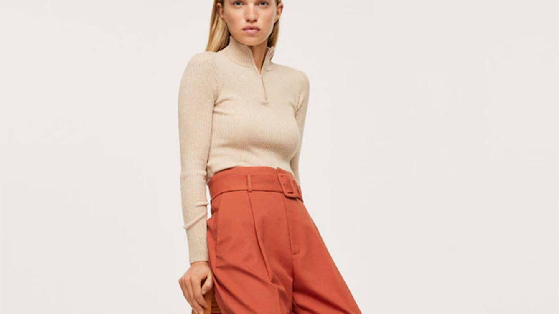 Ancho, cómodo y en 3 colores: el nuevo pantalón low cost de Mango