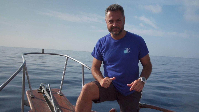 Karlos Simón, el guía de la serie 'Hundidos'. (Zona Mixta).