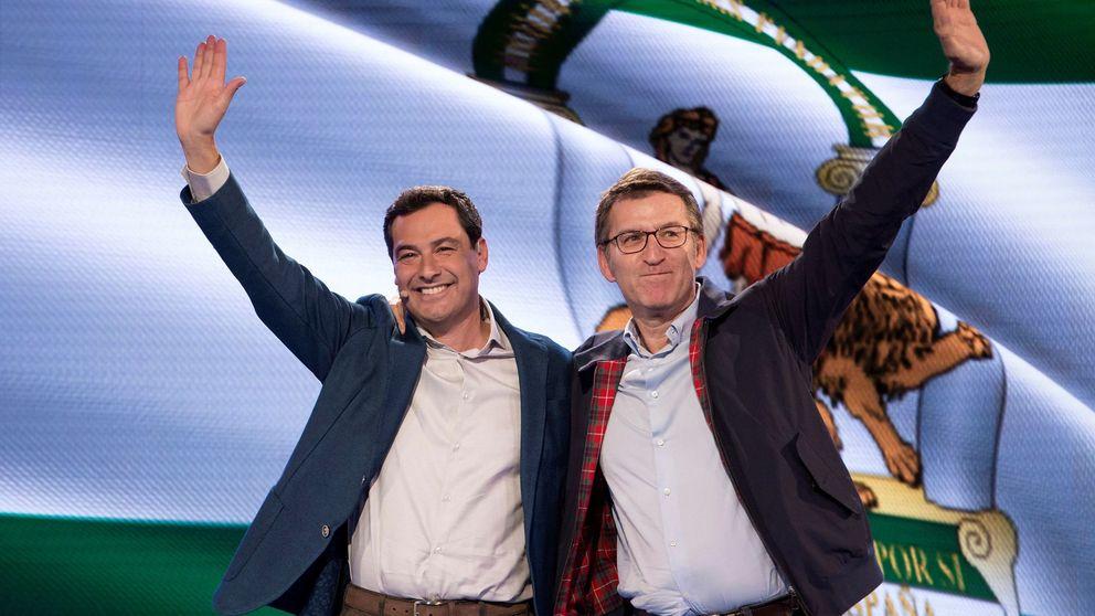 Moreno y Feijóo rectifican: irán a la concentración por la unidad de España