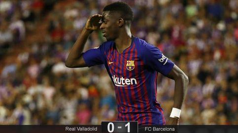 Los fichajes del Barcelona solo le sirven a Valverde para espolear a Dembélé