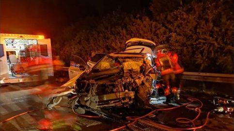 Muere un conductor kamikaze en la A-8 de Gijón tras dejar varios heridos