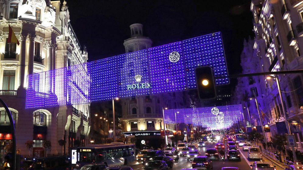 Foto: Imagen de la Gran Vía de Madrid (Ballesteros/Efe)