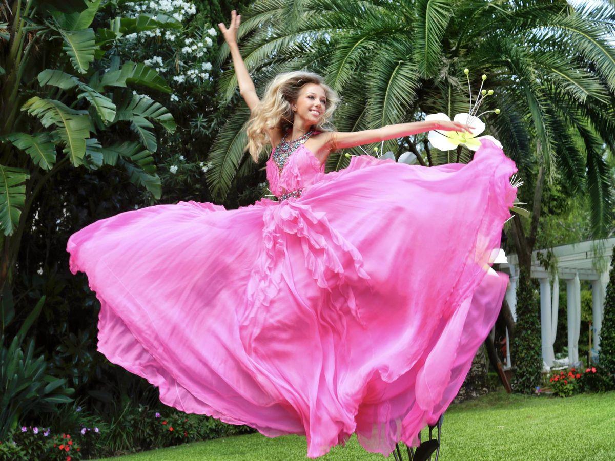 Foto: La princesa Maria Chiara. (Fotos cedidas a Vanitatis)